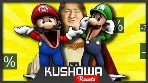 Kushowa Reacts to Retarded64: Mario The Waiter