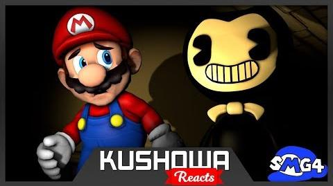 Kushowa Reacts to SMG4: BENDY and the SPAGHETTI MACHINE