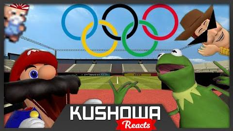 Kushowa Reacts to Retarded64: Mario the Olympian