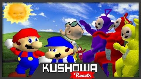 Kushowa Reacts to SM64 Bloopers: Where the Wild Teletubbies are