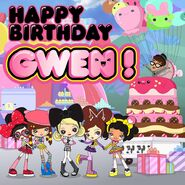 HJ5 happy birthday gwen