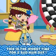 Angel hair emergency