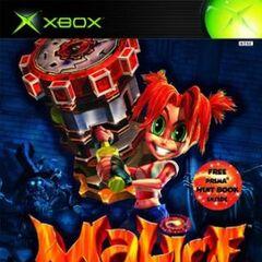Malice Xbox cover