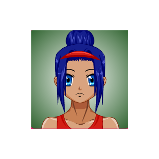 Kya made with a character creator