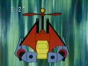 Gattai Ninpou - Kamikaze Rotor (Assembled)