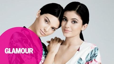 "Kendall and Kylie Jenner Play ""Which Sister"" With Glamour Magazine"