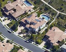 Kylie's Mansion Bird View
