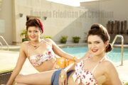 Kendall jenner retro bikini girlfriend magazine australia july 2012 PDG3T2T.sized