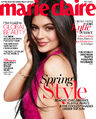 Kylie Jenner Marie Claire Cover