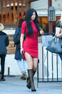 Kylie-Jenner-in-Red-Mini-Dress--24