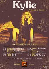 Golden Tour poster