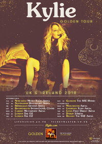 Golden Tour poster