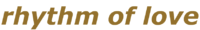 Rhythm of Love Logo