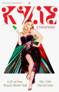 A Kylie Christmas Tour Poster