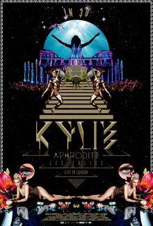 Aphrodite Les Folies DVD
