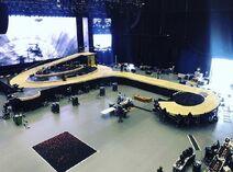 Golden tour stage