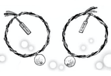 Rinne and Sakura's pair of bracelet