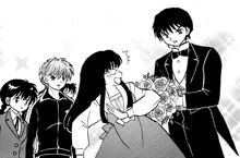 Tsubasa accepts to date Ayame