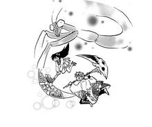 Ageha with Mantis