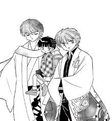 Sabato with Ichigo and Rinne