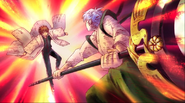 Ep 18 Rinne and Kain fighting
