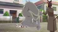 Shoma beaten by Kabakichi