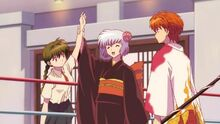 Tamako's declaration