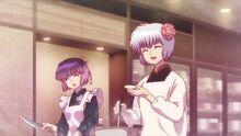 Tamako and Otome