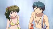 Ep 14 Tsubasa and Sakura at pool