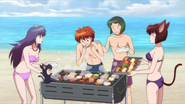 Barbecue at the beach