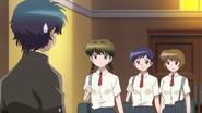Tsubasa did not expect Miho and Rika