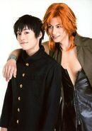 Seiya Motoki and Gaku Shindo