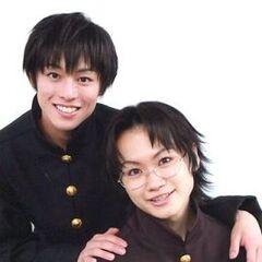 Seiya Motoki and Yūki Torigoe as Yuuri and Murata.