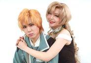Maaya Ono and Yuta Higuchi