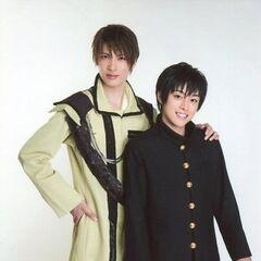 Teruma and Seiya Motoki.