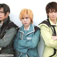 Kentarou Kanesaki, Yuta Higuchi and Keisuke Katou.