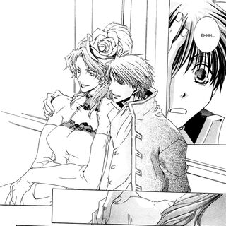 Josak and Conrad in the manga.