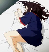 Sakura asleep 2