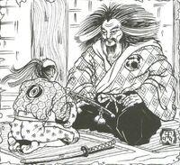 Hiruma presenting Chikara to Hida
