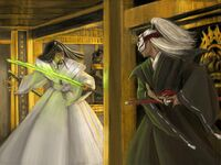Daigotsu confronts Iuchiban
