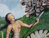 Monkey Clan attacks the Naga