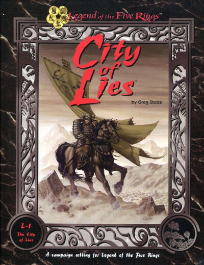 City of Lies; Box Set