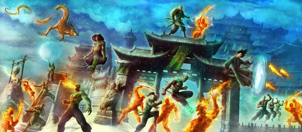 Yobanjin Siege of High House of Light