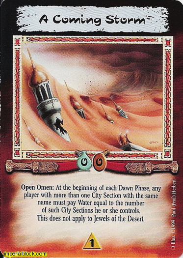 Experienced Legend of the Burning Sands CCG LBS - The Awakening Shalimar