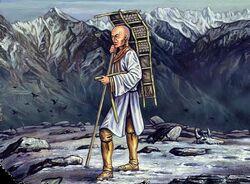 Wandering Monk
