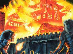 Otosan Uchi in Flames