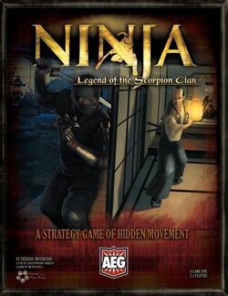 Ninja Legend of the Scorpion Clan rulebook