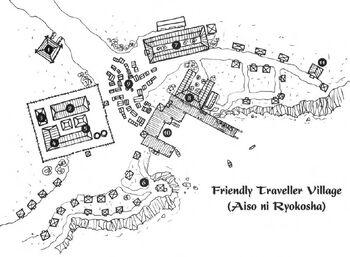 Friendly Traveler Village Map