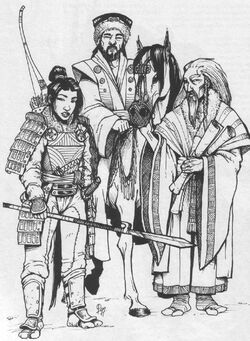 Otaku Kamoko and Ide Tadaji