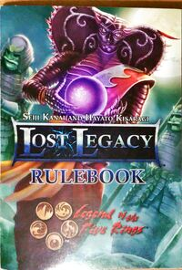 Lost Legacy rulebook cover